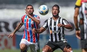 Bahia acumula marcas negativas nas últimas três rodadas do Brasileirão