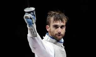 Esgrimista italiano Daniele Garozzo perde final e fica com prata