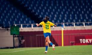Seleção feminina oscila contra Zâmbia, mas chega às quartas da Olimpíada com boas cartadas