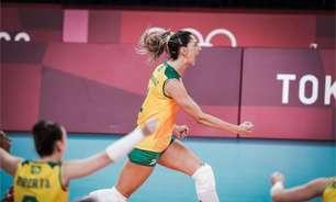 Jogos Olímpicos: Carol Gattaz faz 40 anos com ótima atuação na vitória da seleção feminina de vôlei
