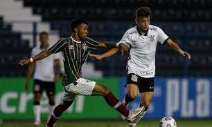 Corinthians e Fluminense ficam no empate pelo Brasileirão sub-20