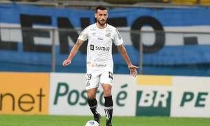 Santos não terá Camacho, Boza e Moraes na Copa do Brasil