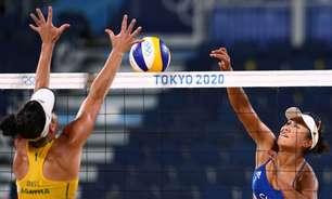 Agatha e Duda perdem para dupla chinesa no vôlei de praia em Tóquio