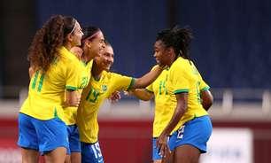Brasil joga mal, mas bate a Zâmbia e pega Canadá nas quartas