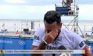 Repórter chora, emoção toma conta com ouro de Italo