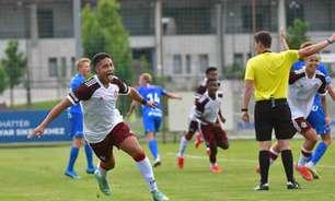 Em jogo eletrizante, Flamengo empata com o Genk, da Bélgica, pela Copa Puskás Sub-17; veja os gols