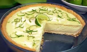 Torta de limão com chocolate branco irresistível
