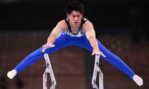 Em casa, Hashimoto fatura ouro no individual geral da ginástica masculina da Olimpíada