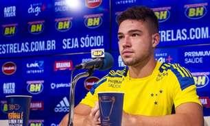 Athletico-PR pede ao Cruzeiro o retorno do atacante Guilherme Bissoli