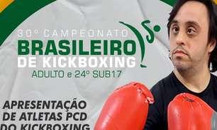 Em busca de inclusão, Brasileiro de Kickboxing no Rio terá apresentação de pessoas com deficiência