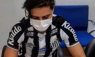 Chega ao fim o sonho do boliviano Zeballos na base do Santos