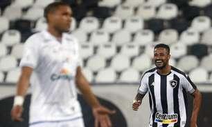Diego Gonçalves valoriza vitória do Botafogo: 'Estava difícil para nós'