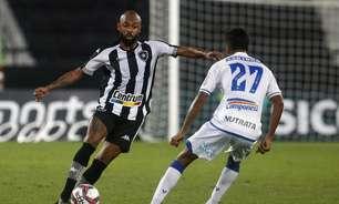 Auxiliar do Botafogo elogia atuação de Chay em vitória sobre o CSA no Brasileirão: 'Sensacional'