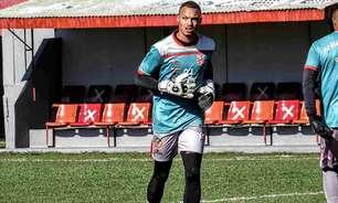 Adnilton Jr, goleiro do Rio Branco-PR, projeta dificuldade para o acesso, mas destaca: 'Não vai faltar entrega'