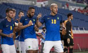 Em sintonia, Richarlison e Matheus Cunha mostram potencial para irem muito além da Seleção olímpica