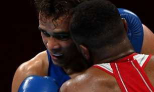 VÍDEO: Na olímpiada, boxeador repete 'mordida' de Mike Tyson e assusta repórter da Globo: 'Absurdo'