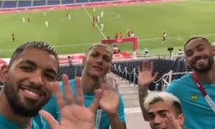 """""""Tchau, hermanitos"""": jogadores da Seleção provocam Argentina"""