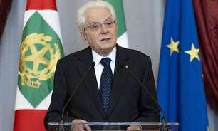 Vacinação é 'dever moral e cívico', diz presidente da Itália