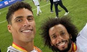Marcelo despede-se de Varane, novo reforço do Manchester United: 'Vou sentir a sua falta'