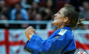 Maria Portela vence luta em 28 segundos e está nas oitavas de final do judô nos Jogos Olímpicos