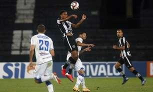 Gilvan elogia Lucas Mezenga, zagueiro do Botafogo: 'O vejo futuramente na Seleção Brasileira'