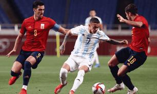 Argentina empata com Espanha e está fora do futebol das Olimpíadas