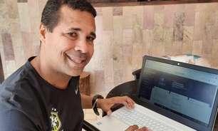 Ex-jogador e agora treinador, Rodrigo Chagas fala da importância do curso da CBF