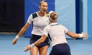 Stefani e Pigossi alcançam a semi nas duplas na Olimpíada