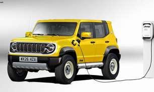 Jeep terá um SUV elétrico menor do que o Renegade