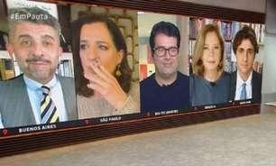 """Ops! Jornalista da """"GloboNews"""" fuma ao vivo durante o jornal"""