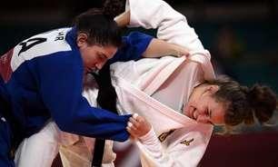 Mayra Aguiar é derrotada por alemã, mas ainda buscará bronze