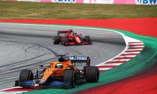 Na briga pelo top-3, McLaren e Ferrari reeditam duelo histórico com pé no futuro