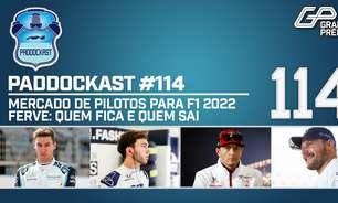 Perto das férias, mercado de pilotos da F1 2022 ferve: quem fica e quem sai | Paddockast #114