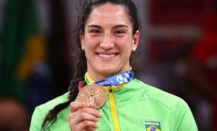Brasil é prata com Rebeca e bronze com Mayra; vôlei vence