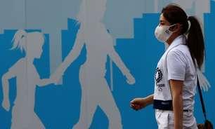Com casos de Covid em crescimento, duas pessoas envolvidas com Olimpíada são internadas no Japão
