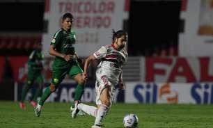 Preservado, Benítez tem média de apenas 46 minutos em campo a cada partida que joga pelo São Paulo