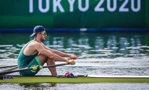 Olimpíadas: Lucas Verthein não vai disputar medalha, mas tem melhor campanha do Brasil no skiff simples