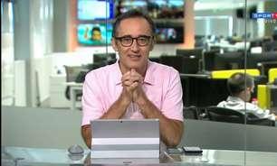 Retratação ao vivo de Marcelo Barreto ao Flamengo viraliza nas redes sociais