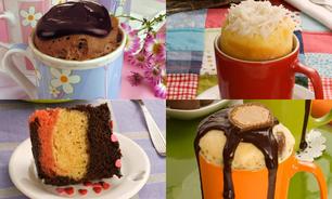 Rápidas e quentinhas: 6 receitas de bolo de caneca para fazer agora!