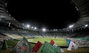 Torcedores do Fluminense brigam no Maracanã, e clube interrompe preparação do estádio