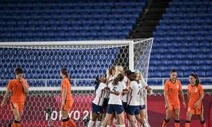 Nos pênaltis, Estados Unidos vencem a Holanda e vão à semifinal em Tóquio