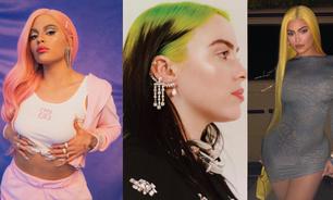 Relembre os cabelos coloridos das famosas!