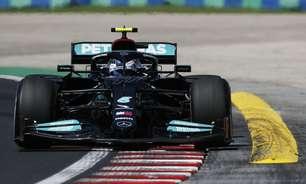 Calorão na Hungria confunde e põe Mercedes à frente. Mas Red Bull tem como virar jogo