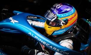 """Alonso fala em """"dia positivo"""", mas prega cuidado com forte calor na Hungria"""