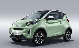 Chery EQ1, sucompacto elétrico, ganha facelift na China