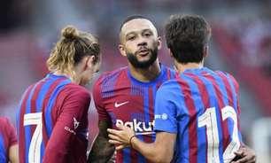 Depay, Demir e Puig marcam em vitória do Barcelona; veja os resultados dos amistosos do dia