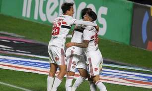 Sequência invicta contra o rival e saída do Z4: as missões do São Paulo contra o Palmeiras