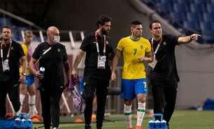 André Jardine, técnico do Brasil, lamenta chances desperdiçadas, mas elogia grupo e já pensa no México