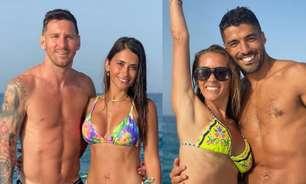 Dos tempos de Catalunha, Messi e Suarez curtem férias juntos