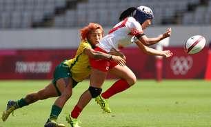 Brasil vence Japão e fica em 11º no rúgbi feminino em Tóquio